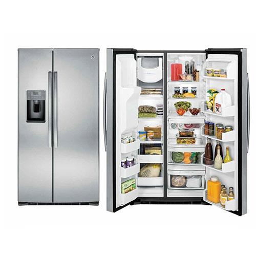 GE奇異GSE25HSSS 733L對開門冰箱