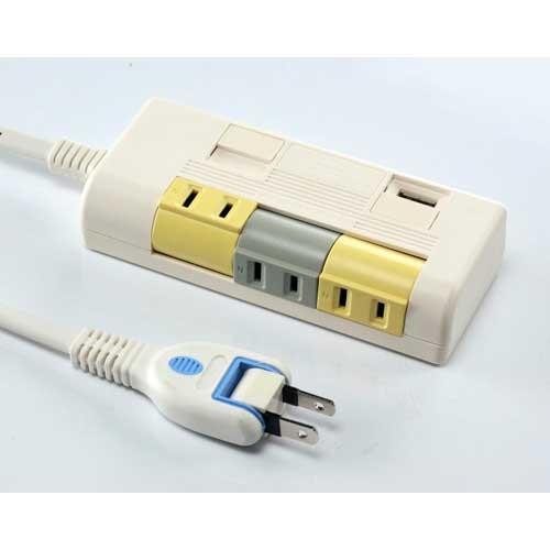 安全達人 CU-5806H 2P轉向延長線+USB充電座 2.4A
