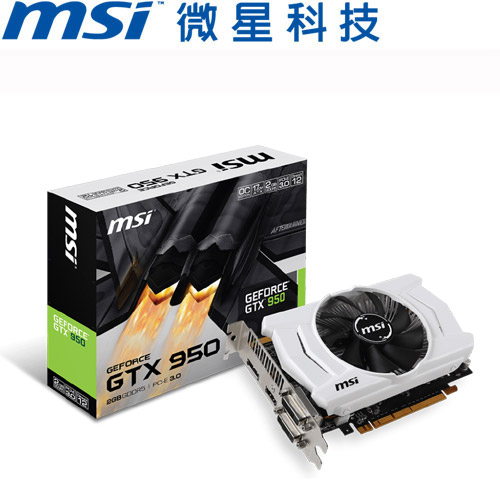【限時搶購】MSI微星 GTX 950 2GD5 OC 顯示卡<福利品>