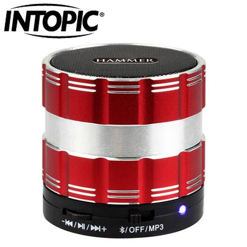 INTOPIC 廣鼎 SP-HM-BT130 無線藍牙麥克風喇叭 紅
