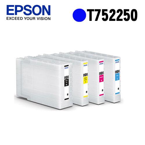 EPSON T752250 原廠藍色墨水匣