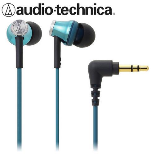 audio-technica 鐵三角 ATH-CK330M 耳塞式耳機 土耳其藍