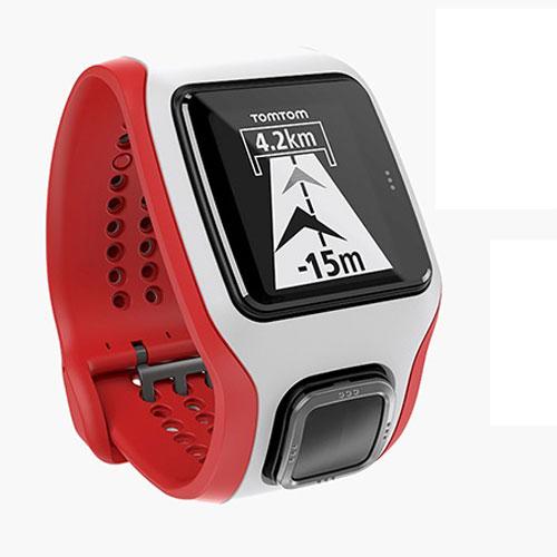 TomTom Runner Cardio GPS運動心率手錶 白紅