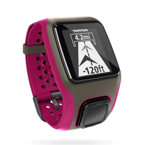 【限時搶購】TomTom Mutli-Sport GPS鐵人三項GPS運動手錶桃