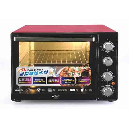 KOLIN歌林 35L 三溫控油切 旋風大烤箱 KBO-LN353
