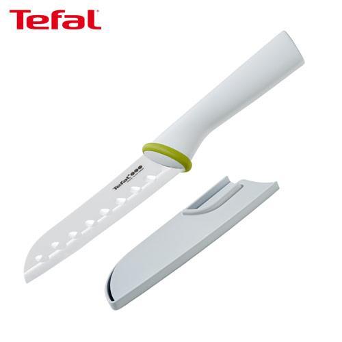【Tefal法國特福】陶瓷系列13CM日式主廚刀
