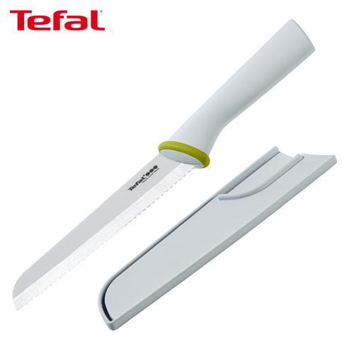 【Tefal法國特福】陶瓷系列16CM麵包刀