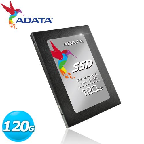 【網購獨享優惠】ADATA 威剛 SP550 120GB 2.5吋 SATA3 SSD固態硬碟