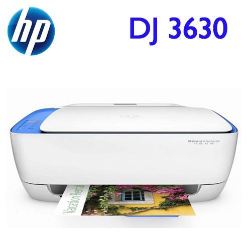 HP DeskJet 3630 相片噴墨多功能事務機