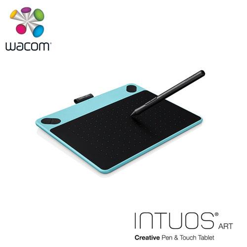 【網購獨享優惠】Wacom Intuos Art 藝術創意觸控繪圖板-藍(小)送微軟鍵盤~3/31止