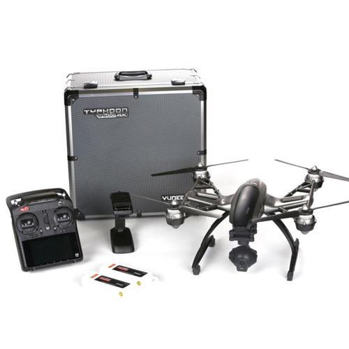 TYPHOON Q500+ 4K畫質 鋁箱&雙電版 四軸四旋翼 專業空拍機(黑色)