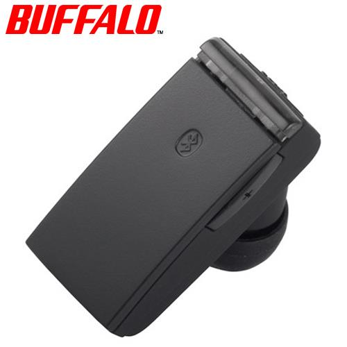BUFFALO 巴比祿 BSHSBE23 BT4.0 輕小型藍牙耳麥 黑