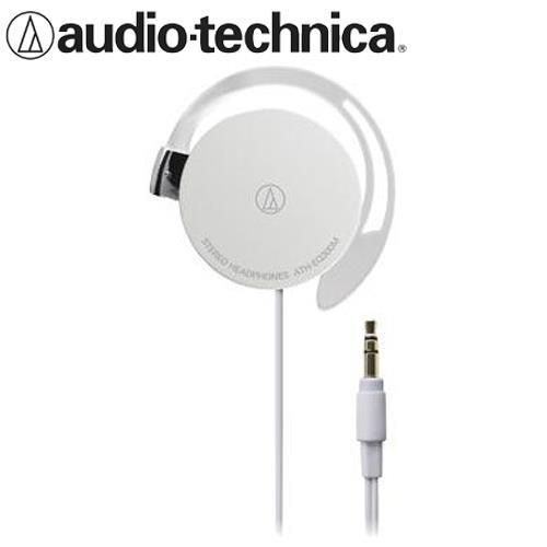 audio-technica鐵三角 ATH-EQ300M 輕量薄型耳掛式耳機 白
