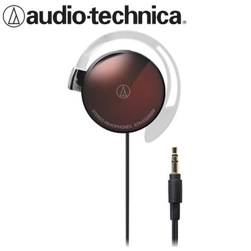 audio-technica鐵三角 ATH-EQ300M 輕量薄型耳掛式耳機 棕