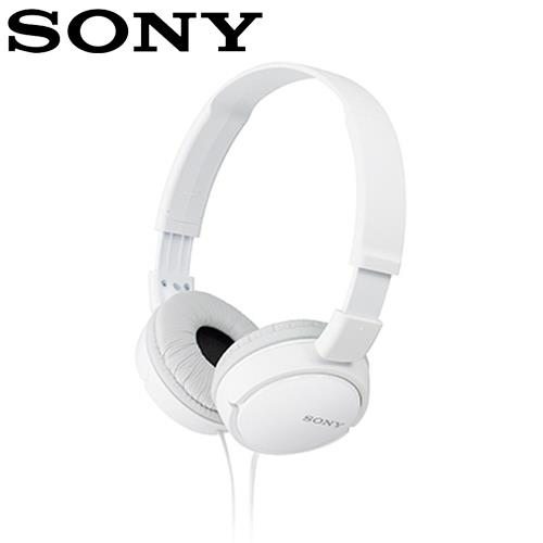 SONY 索尼 ZX110 多彩耳罩式耳機 白