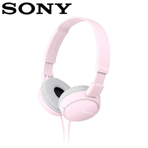 SONY 索尼 ZX110 多彩耳罩式耳機 粉