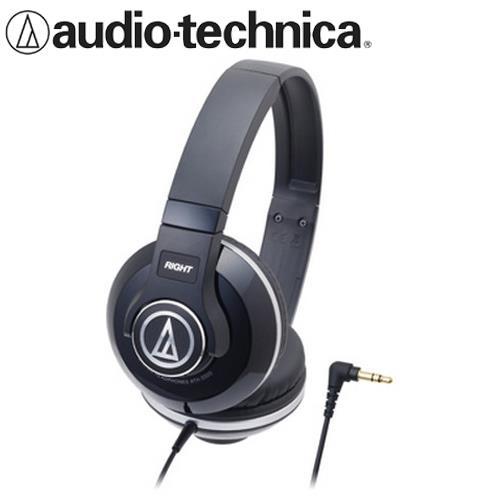 audio-technica 鐵三角 ATH-S500 耳罩式耳機 黑