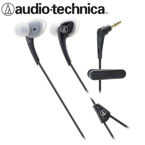 鐵三角 ATH-SPORT2 防水運動型耳塞式耳機 黑