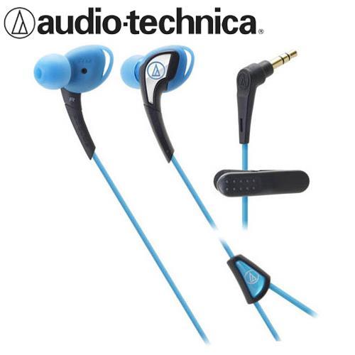 鐵三角 ATH-SPORT2 防水運動型耳塞式耳機 藍