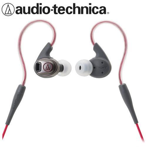 audio-technica鐵三角 ATH-SPORT3 防水運動耳塞式耳機 紅