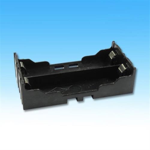 18650 * 2 插板式電池盒一入