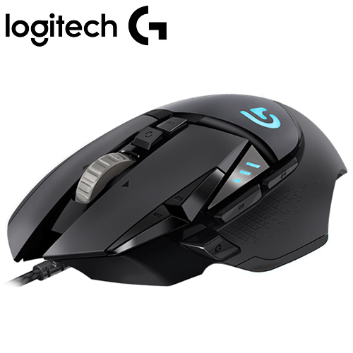 Logitech 羅技 G502 RGB 自調控電競遊戲滑鼠【限時省$500】