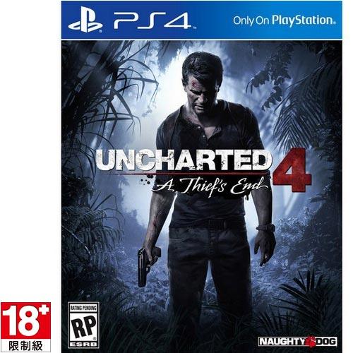 【客訂】PS4遊戲《秘境探險4 盜賊末路》中文版【限量特價!!!】