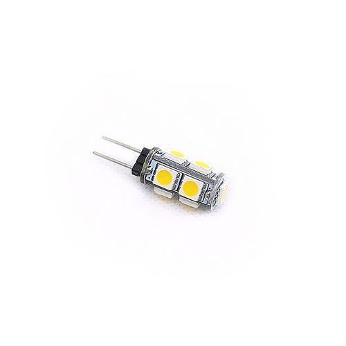 G4 5050 9燈LED 暖白光 AC/DC12V(2PCS/卡)