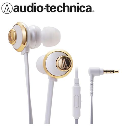 audio-technica 鐵三角 CKF77is 耳塞耳機麥克風 白