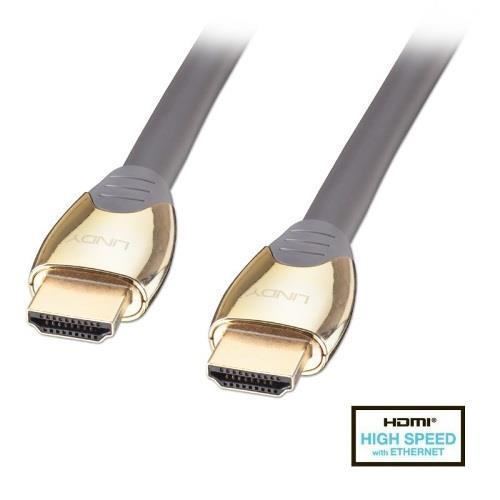 LINDY林帝  GOLD系列HDMI 2.0連接線 5M 37854