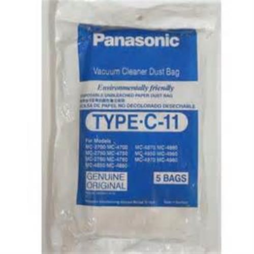 Panasonic  集塵紙袋 TYPE-C11 吸塵器專用集塵紙袋 5入
