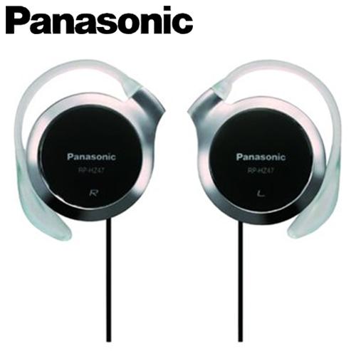 Panasonic 國際牌 HZ47-K 超薄型耳掛式耳機 黑