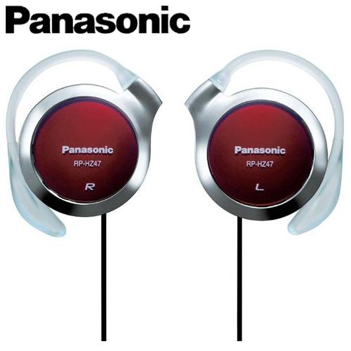 Panasonic 國際牌 HZ47-R 超薄型耳掛式耳機 紅