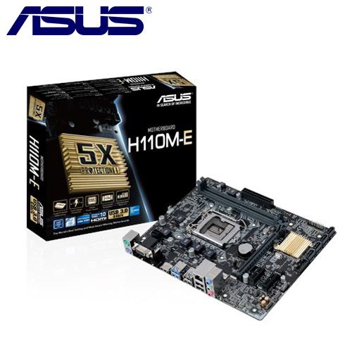 ASUS華碩 H110M-E 主機板