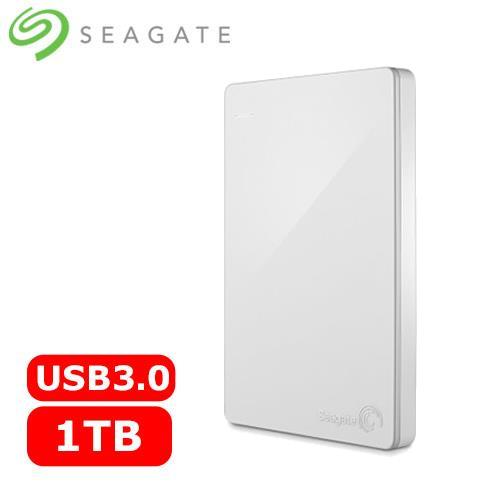 Seagate希捷 Backup Plus 2.5吋 1TB 行動硬碟 白