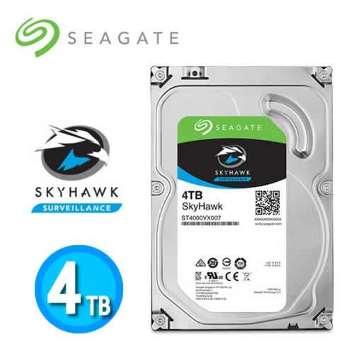 Seagate SkyHawk 3.5吋 SATA3 4TB 監控專用硬碟機
