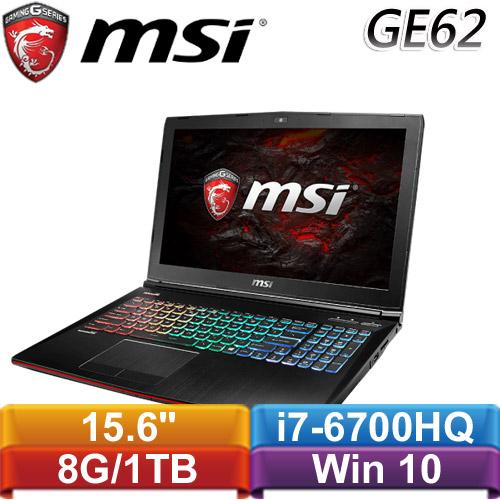 【福利品】MSI微星 GE62VR 6RF  15.6吋筆記型電腦