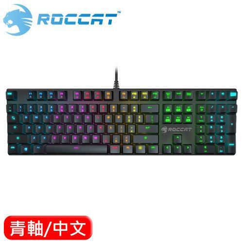 ROCCAT 冰豹 Suora RGB 電競機械鍵盤 青軸