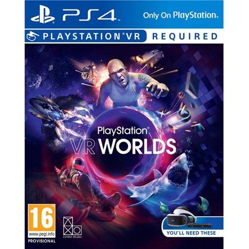 【客訂】PS4 VR專用遊戲《PlayStation VR Worlds》中英文合版