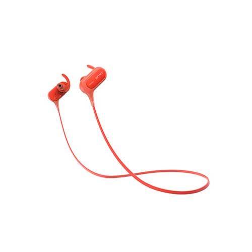 SONY運動藍牙入耳式耳麥MDR-XB50BS-R紅