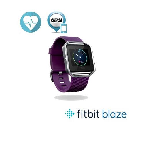 Fitbit Blaze 智能健身手錶-紫(L)