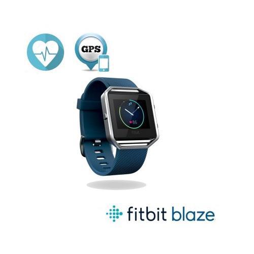 Fitbit Blaze 智能健身手錶-藍(S)