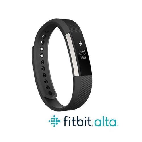 Fitbit Alta 時尚健身手環-黑(L)