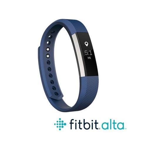 Fitbit Alta 時尚健身手環-藍(S)