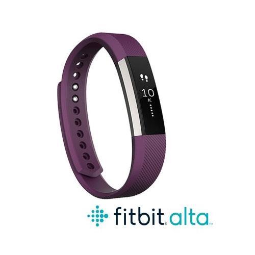 Fitbit Alta 時尚健身手環-紫(S)
