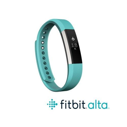 Fitbit Alta 時尚健身手環-湖水綠( L)