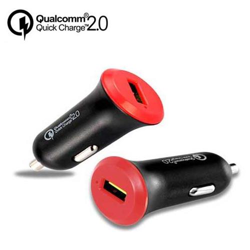 彰唯 智慧型QC2.0晶片高速車用USB充電器