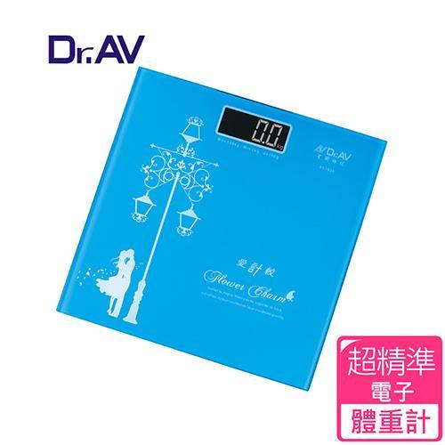 【Dr.AV】歐風薄型 電子體重計(PT-102A)