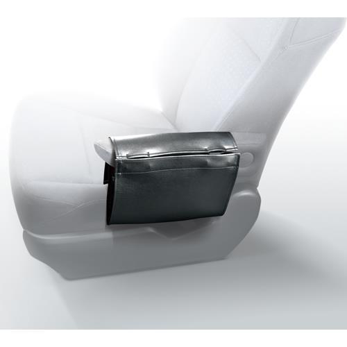 CARMATE 皮革調扶手收納置物袋 DZ386