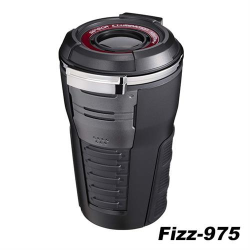 日本NAPOLEX 科技時尚太陽能煙灰缸(黑) Fizz-975